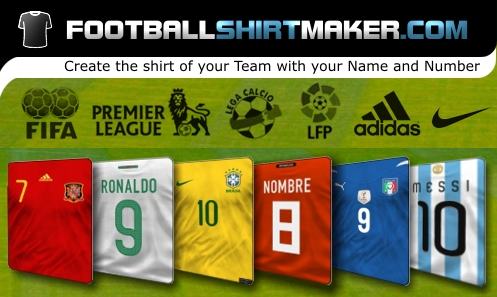 Make your own football jersey on facebook