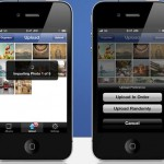 Upload Multiple Photos to Facebook in iPhone