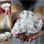 3D Printed Sugar Sculptures