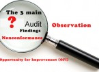 3 types of Audit Findings