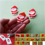 Make Red Santa Claus Origami