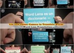 translate words by using cell phone camera