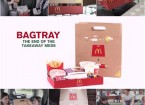 McDonalds Super Comfort Paper BagTray