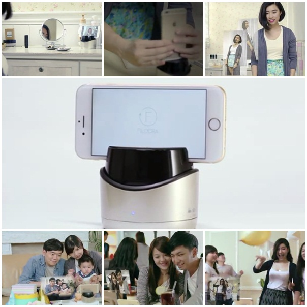 Fiedora Self-timer Hassle-Free Camera Robot