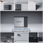 Samsung 2 Terabytes Portable SSD T3 Hard disc