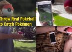 Throw Real Pokéball to Catch Pokémon